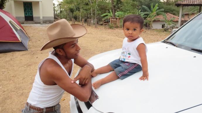 Cutest kid in Honduras