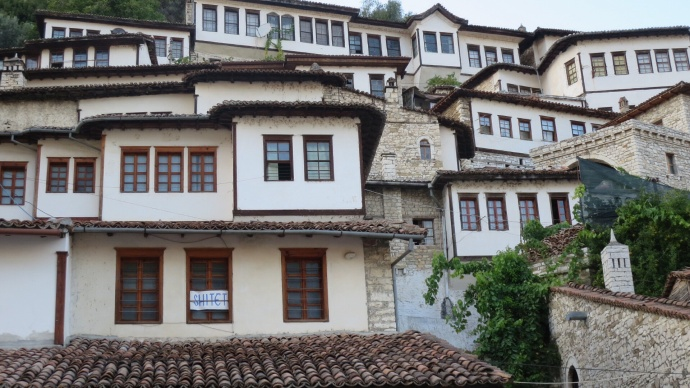 The windows of Berat
