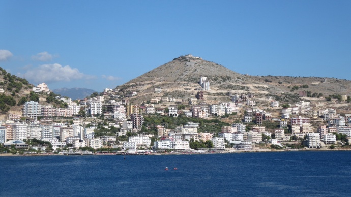Saranda, part of the Albanian Riviera