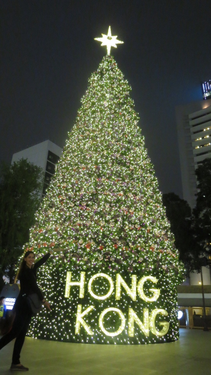 Hong Kong Xmas tree