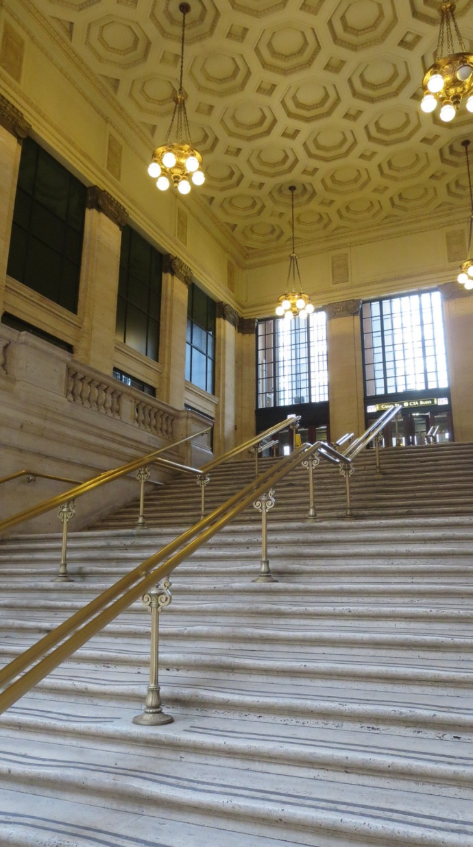 Recognize these steps from The Untouchables?
